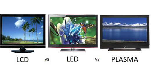 Comparación Televisor LCD, LED y plasma